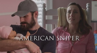 American Sniper CollegeHumor