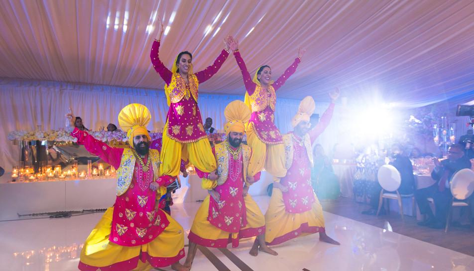 Bhangra Dancers Wedding