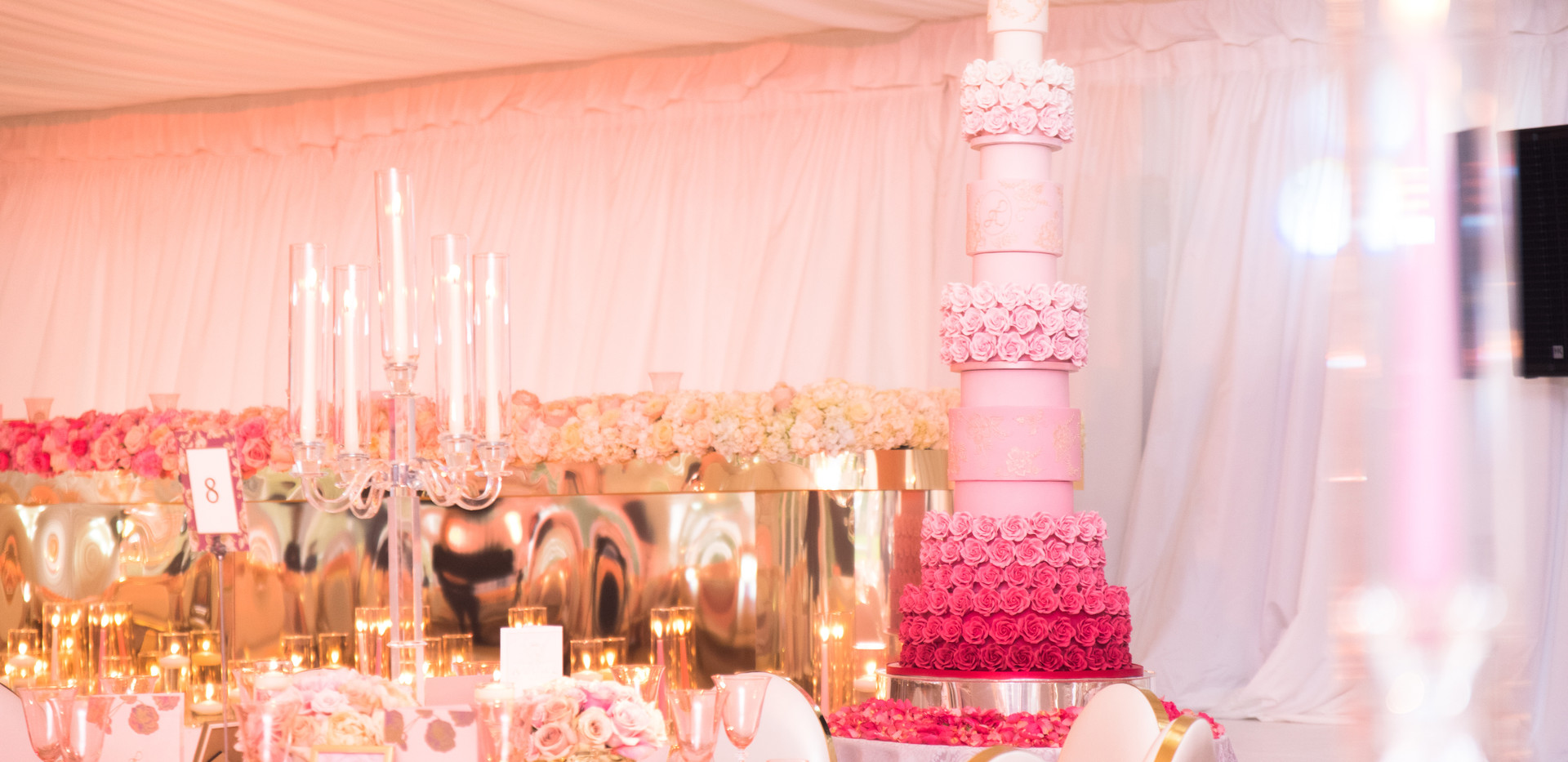 Boreham House Wedding Cake