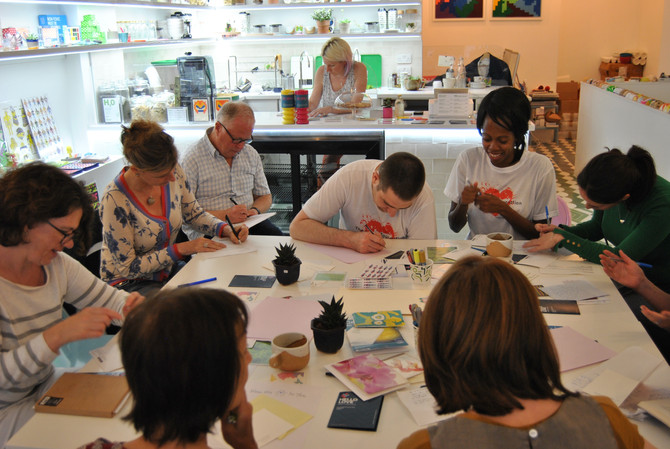 LONDON LETTER-WRITING WORKSHOP
