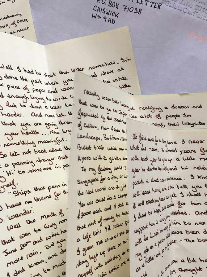 SAMPLE LETTER - FROM A FATHER TO A SON