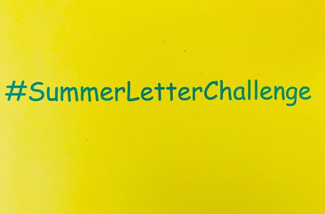 #SummerLetterChallenge