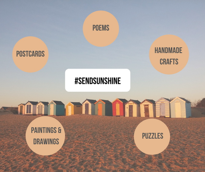 #SENDSUNSHINE WRITING PROMPTS