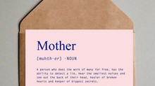 LETTERS FOR MOTHER'S DAY.