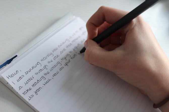 WRITING FOR DUKE OF EDINBURGH AWARD