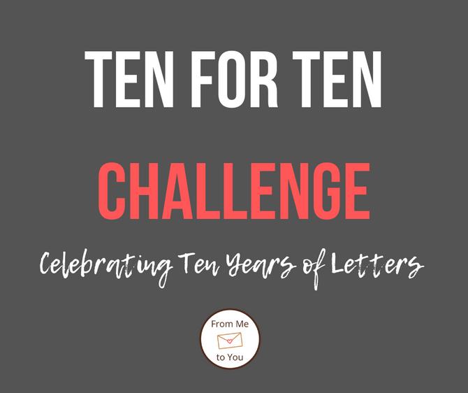 TEN FOR TEN CHALLENGE