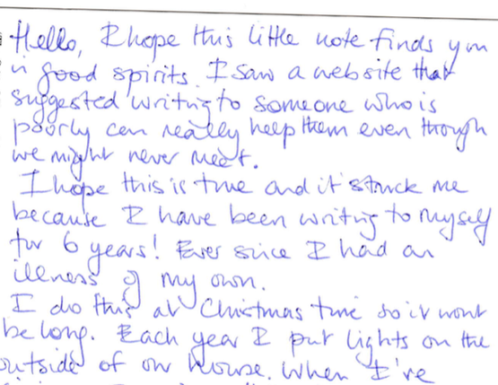 Sample Christmas Letter