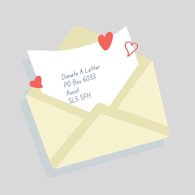 New Donate A Letter PO Box Address