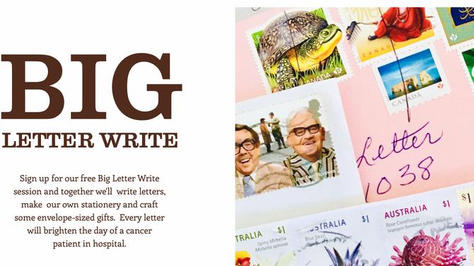 BIG LETTER WRITE
