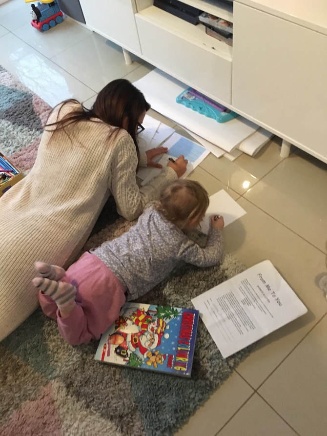 NEVER TOO YOUNG FOR LETTER WRITING!