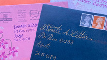 WE WANT YOUR ENVELOPE ART