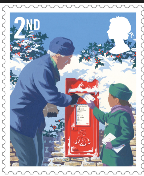 JUST £3.16 BUYS STAMPS TO SEND 4 CARDS TO CANCER PATIENTS