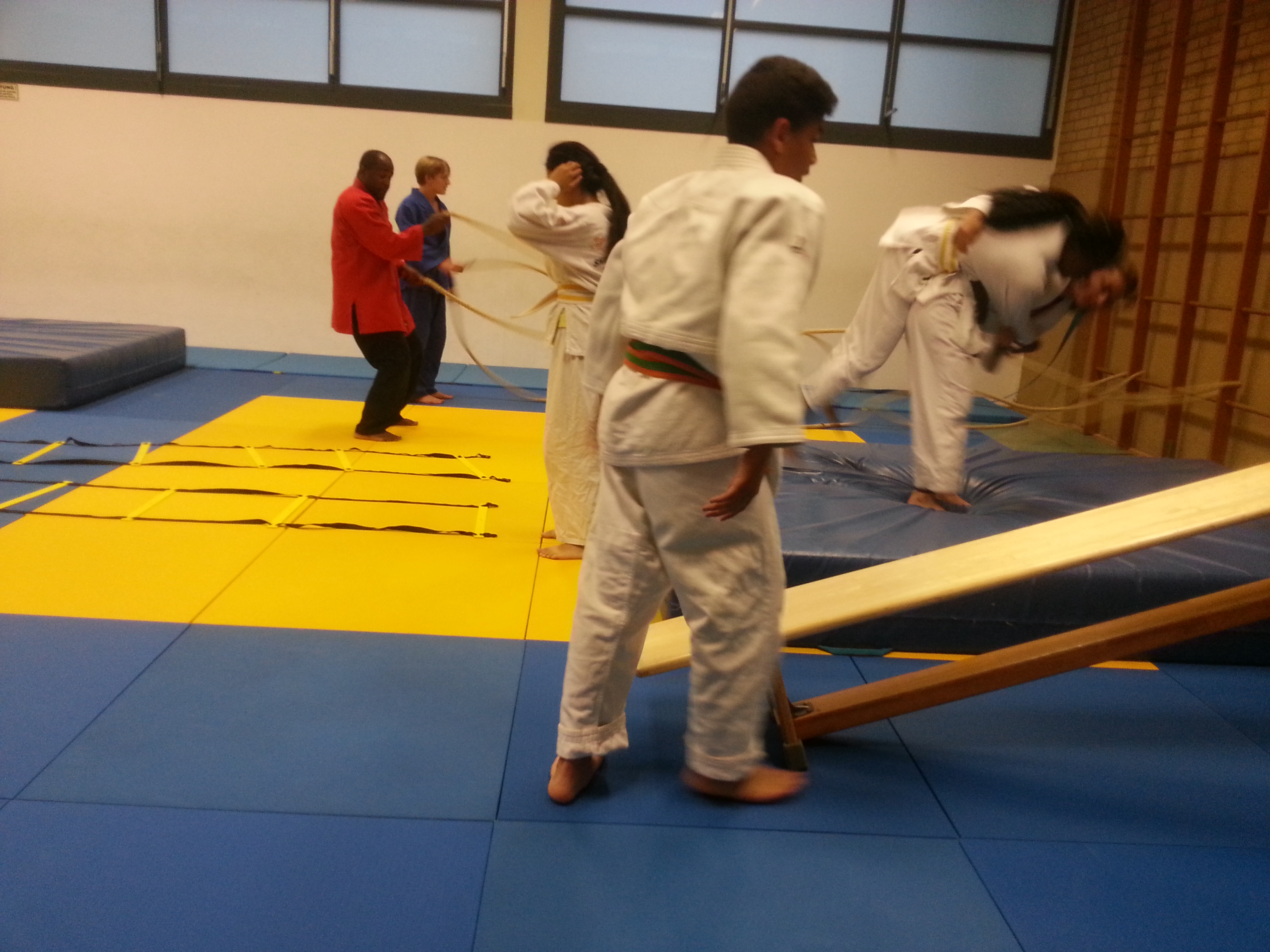 Shiai Training