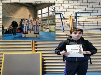 Zwei Qualifizierte Shiai Judoka für die Westdeutsche Einzelmeisterschaft U15