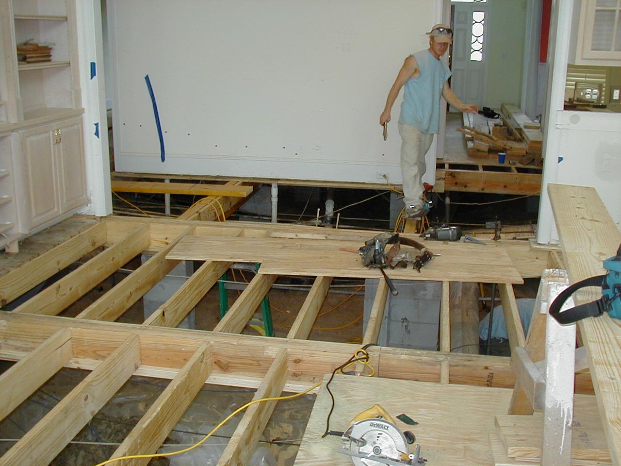 Floor Joist Replacement