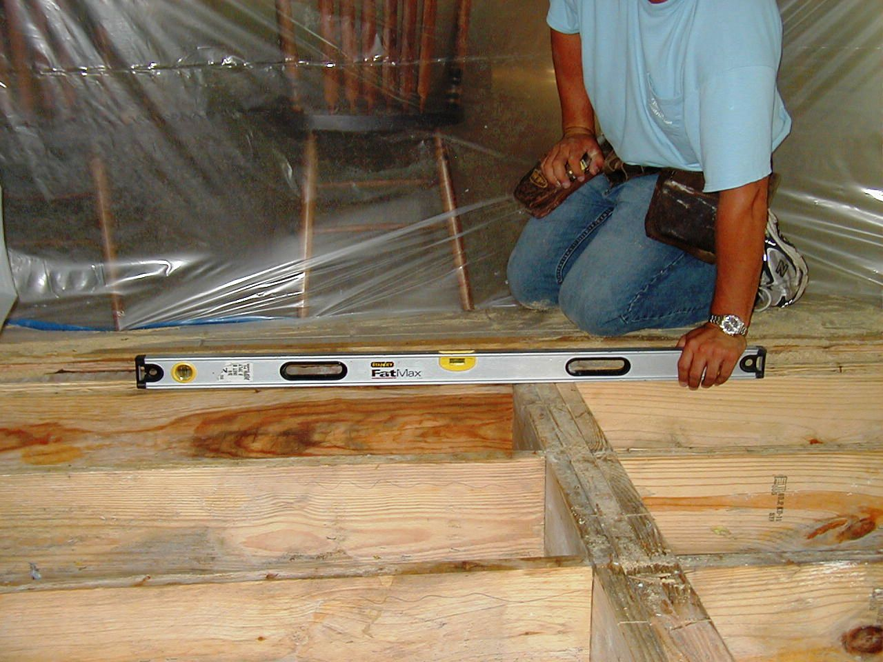 Level Floor Joist
