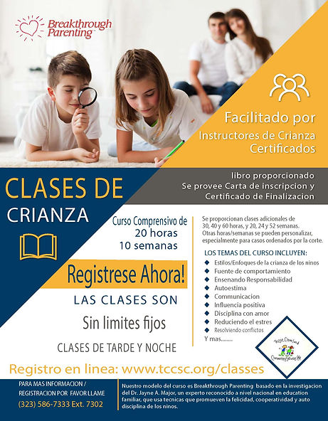 Parenting Class. Comb-compressed Spanish