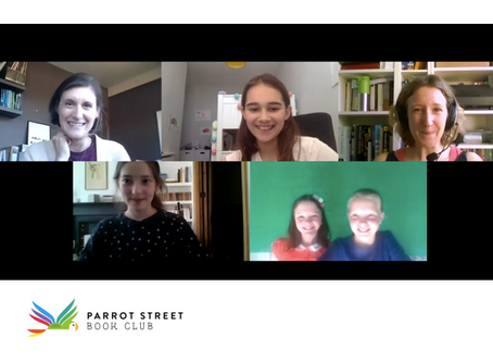 Any questions? An interview with Parrot Street book club virtually!