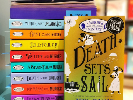 September 2020 Book of the Month: Death Sets Sail
