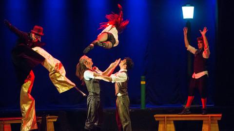 acrobatics show