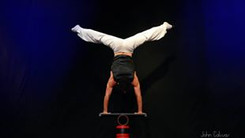rolla bola acrobatic act