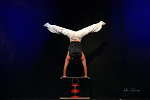 rolla bola acrobatic act