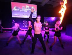 fire sword choreography