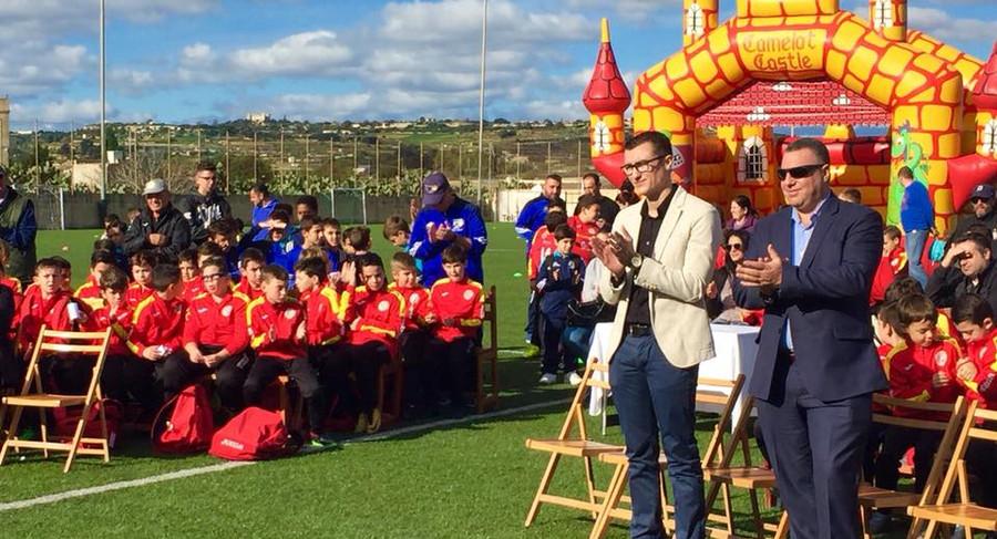 """ RGF inaugurating sports facilities in Siġġiewi"""