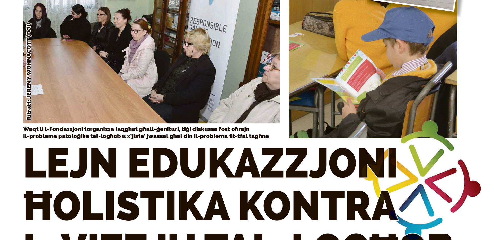 Torċa article on Education Campaign