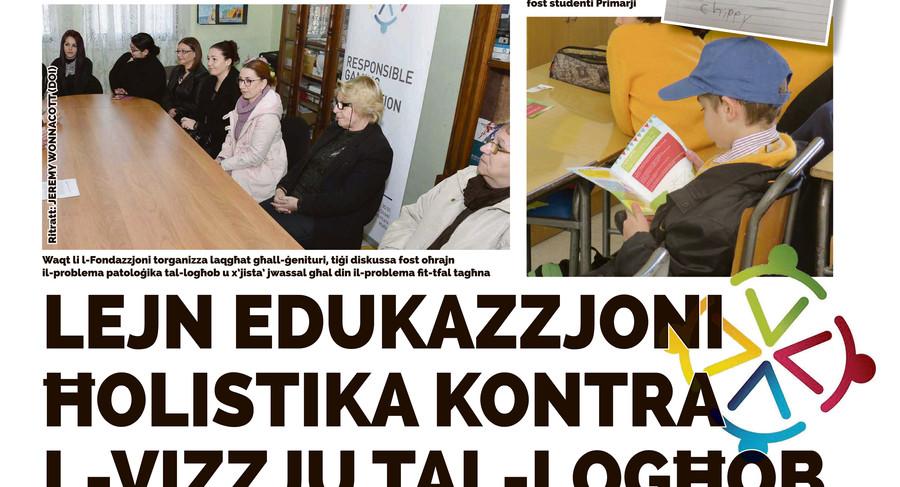 Torċa article on Education Campaign