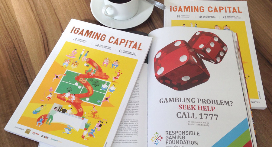 "The RGF promoted on ""iGaming Capital"""