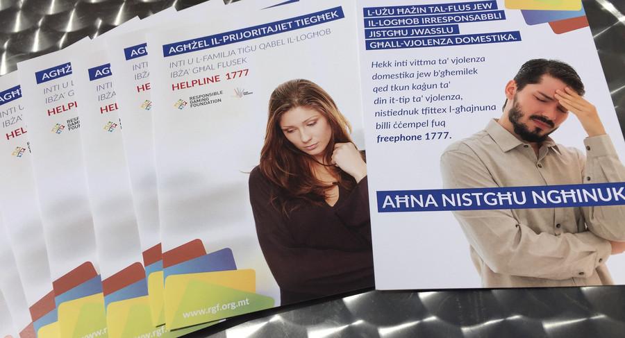 Domestic Violence and Gambling Awareness Activity