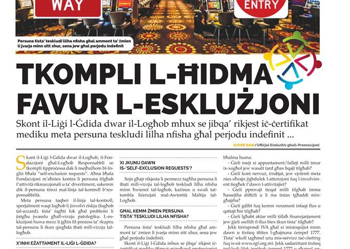 Torċa article on Exclusion