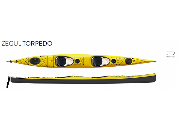 Zegul Tandem Torpedo (Available in Red)