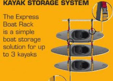 HF Xpress Kayak Storage System