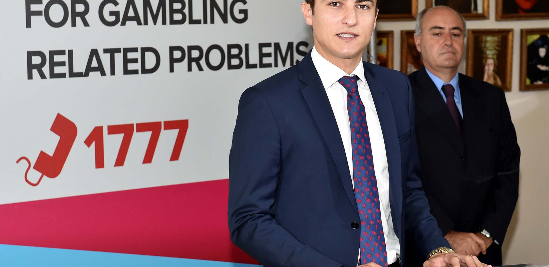 Launch of the National Gambling Helpline 1777