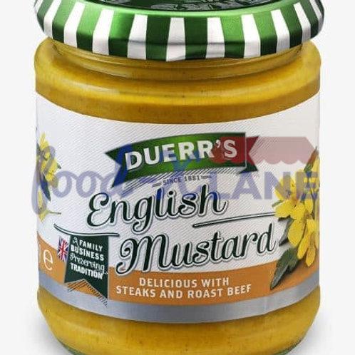 Duerr's English mustard 185gr