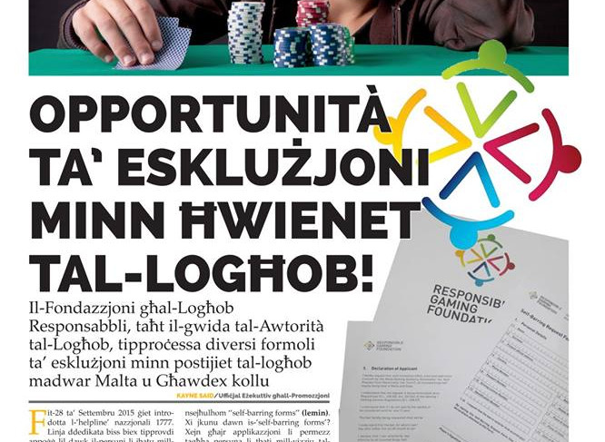 Torċa article on self exclusion forms