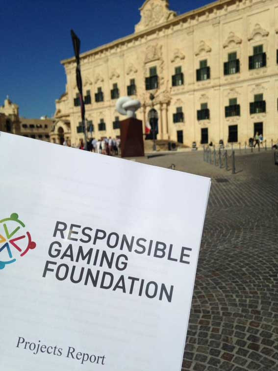 RGF's presentation of Projects Report