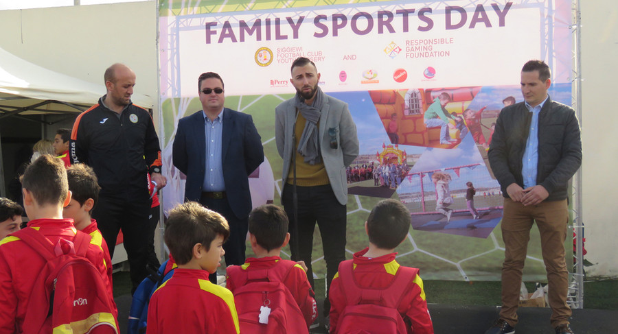 Siġġiewi Youth Football Nursery Activity with the aid of the RGF