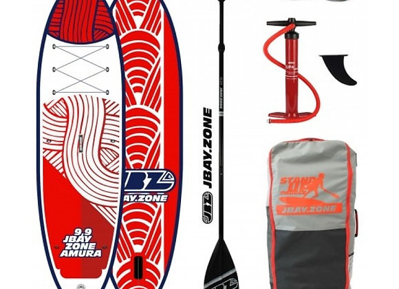 J Bay AMURA SUP- Designed in Italy + Pump + Paddle