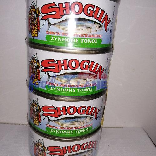 Shogun Tuna in oil 1x4x185gr
