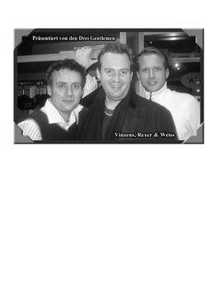 Three Gentlemen Live Show 2004 Germa