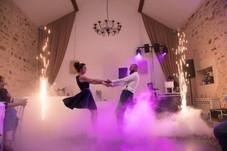 Première Danse  Etincelles Froide + Fumée Lourde