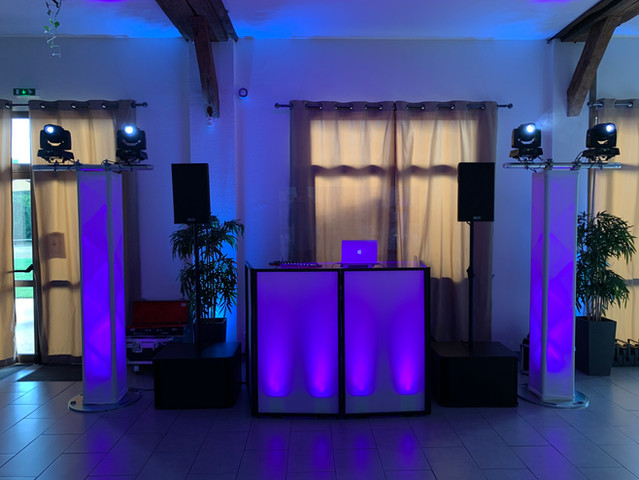 Installation DJ  Mariage