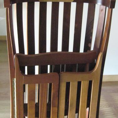 """""""SOL NASCENTE"""" cadeiras/esculturas"""