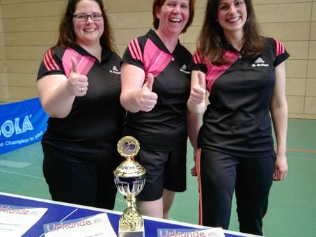 Die TTC-Damen gewinnen auch den Verbandspokal