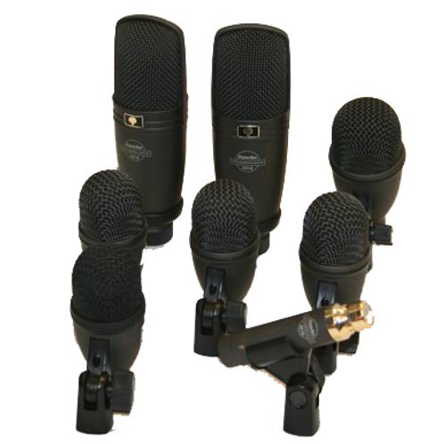 7x Drum Microphones