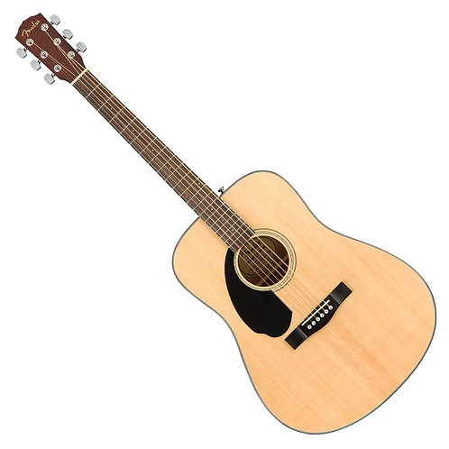 FENDER CD60 S DREADNOUGHT ACOUSTIC NATURAL LEFT HANDED