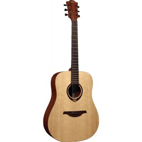 LAG T70 Auditorium Solid Top Acoustic Guitar